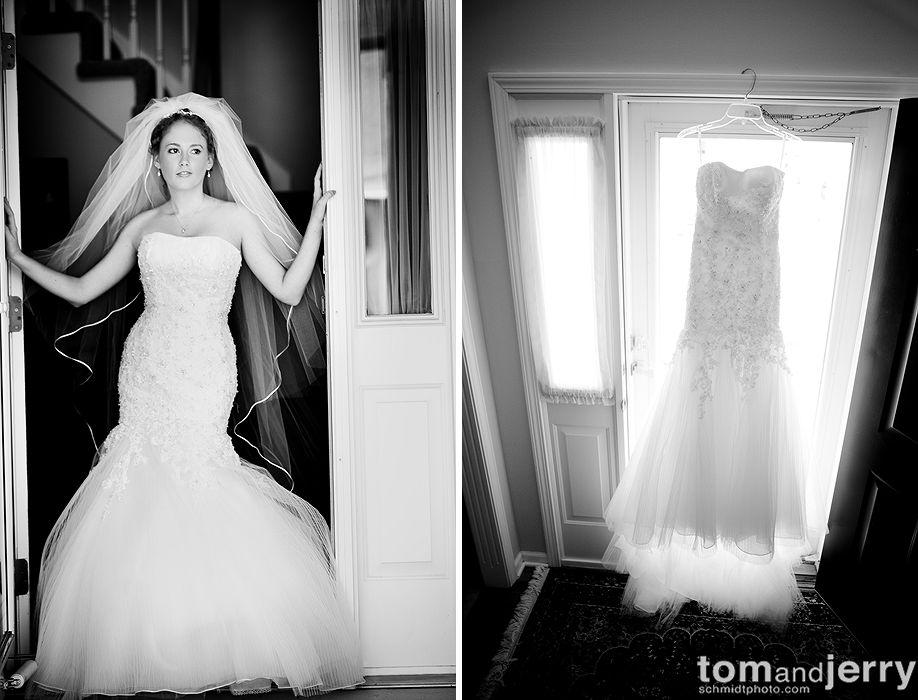 Bride - Wedding Dress - Tom and Jerry Wedding Photographers