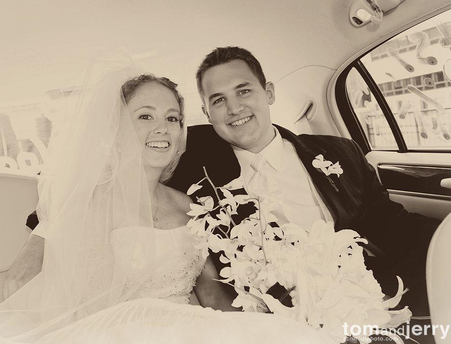Ceremony- Wedding Kiss - Tom and Jerry Wedding Photographers