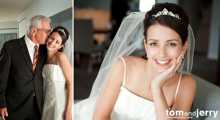 Bride - Wedding Dress - Tom and Jerry KC Wedding Photographers
