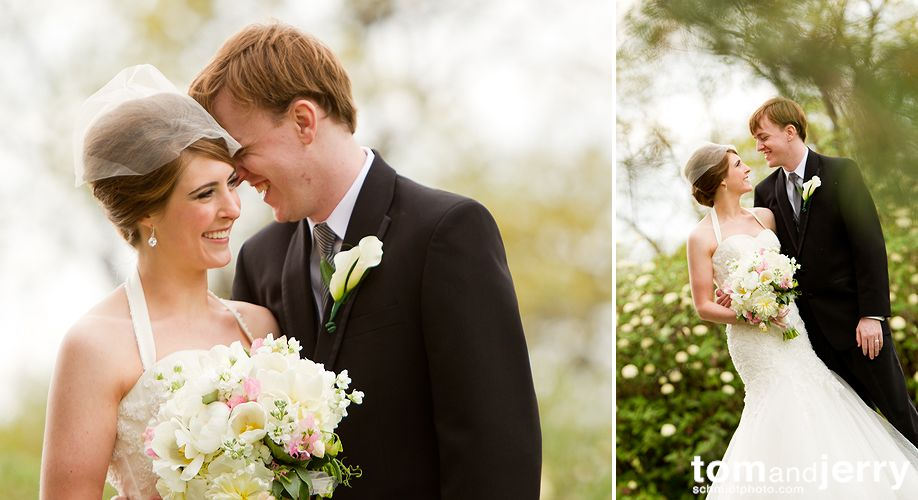 Outdoor Wedding Portriats - Tom and Jerry Wedding Photographers