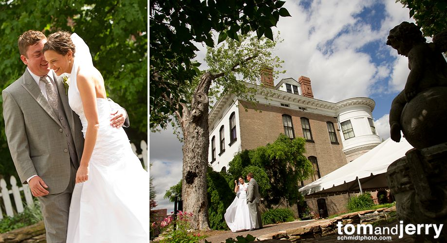Bride and Groom - Wedding Portrait - Tom and Jerry Wedding Photographers
