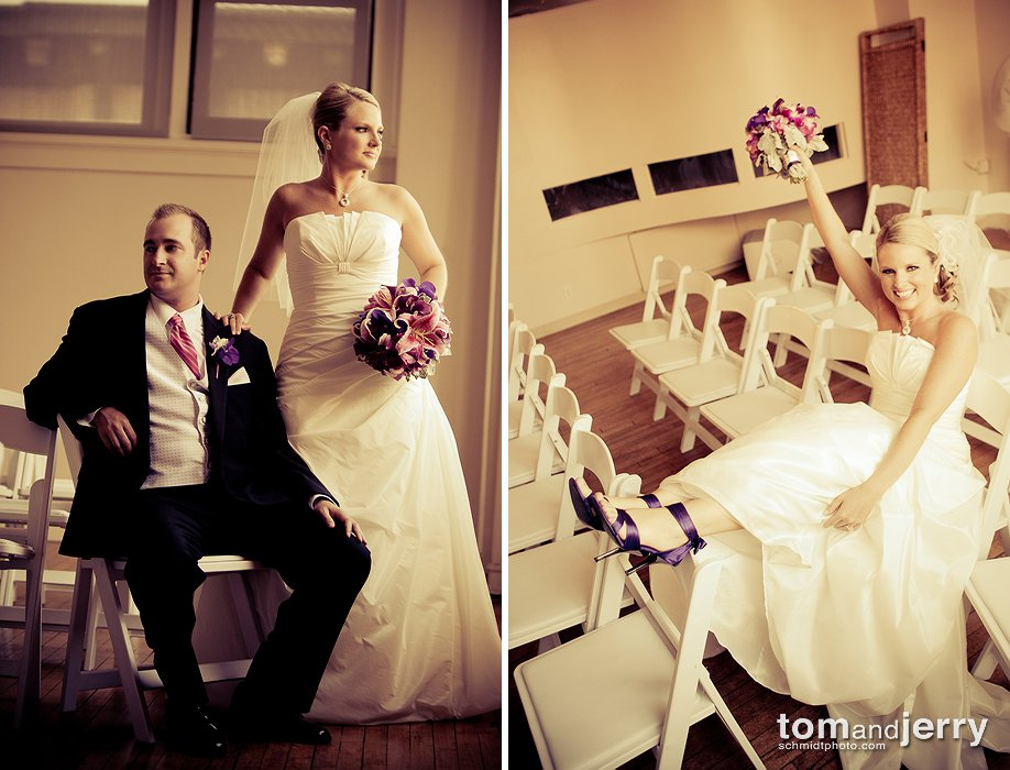 Wedding Ceremony Site - Club 1000 KC - Tom Schmidt Photo