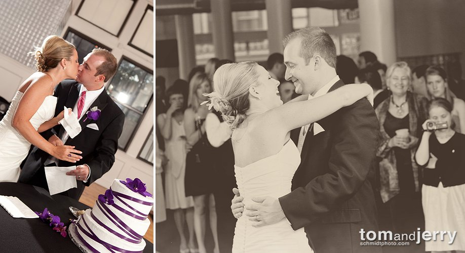 Reception Photos - First Dance and Cake Cutting - Wedding Cake