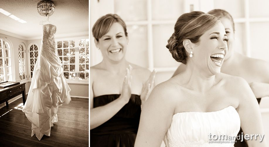 Girls Getting Ready Picture - Wedding Photography - Longview Mansion