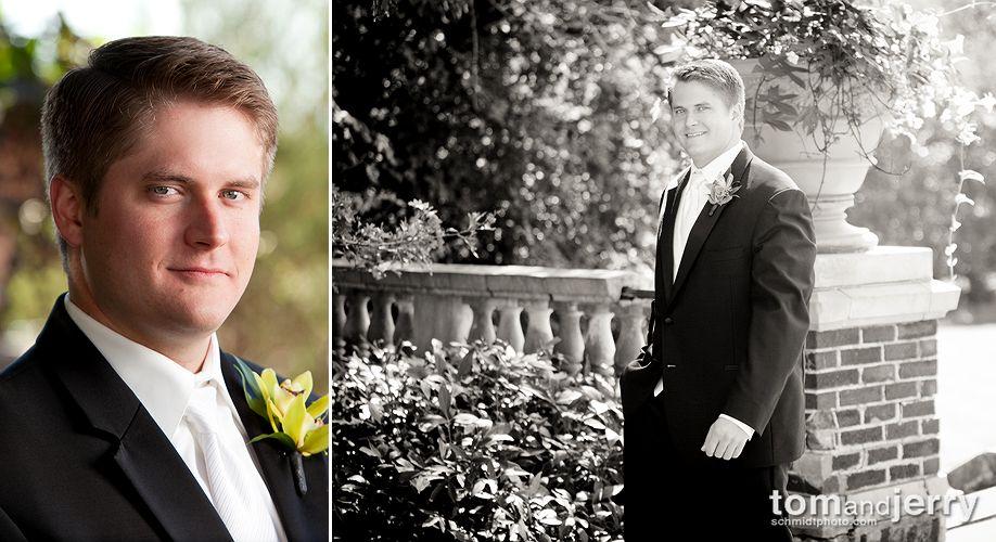 Groom Portraits - Tom Schmidt Photography - Longview Wedding