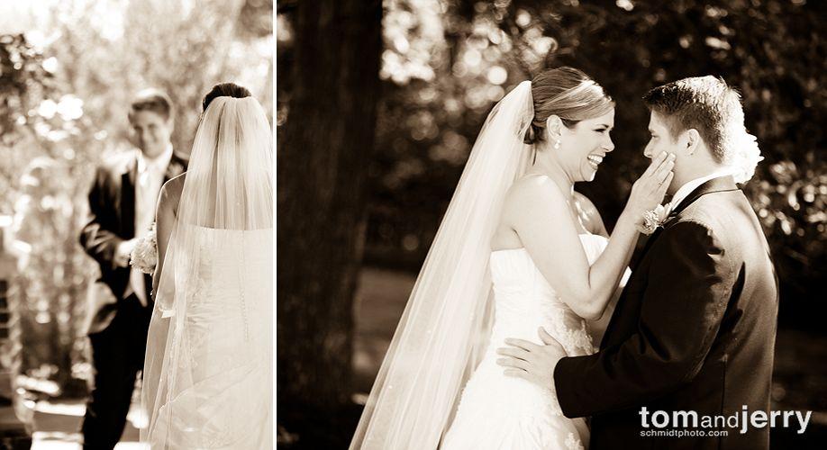 Bride and Groom Portraits - Tom Schmidt Photography - Longview Wedding
