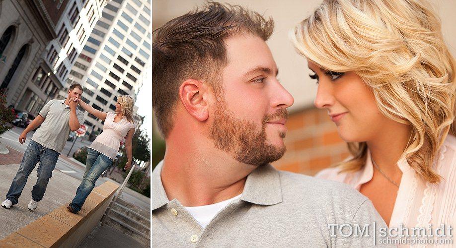 Fun Engagement Photo Samples - Tom Schmidt Photo - KC Weddings