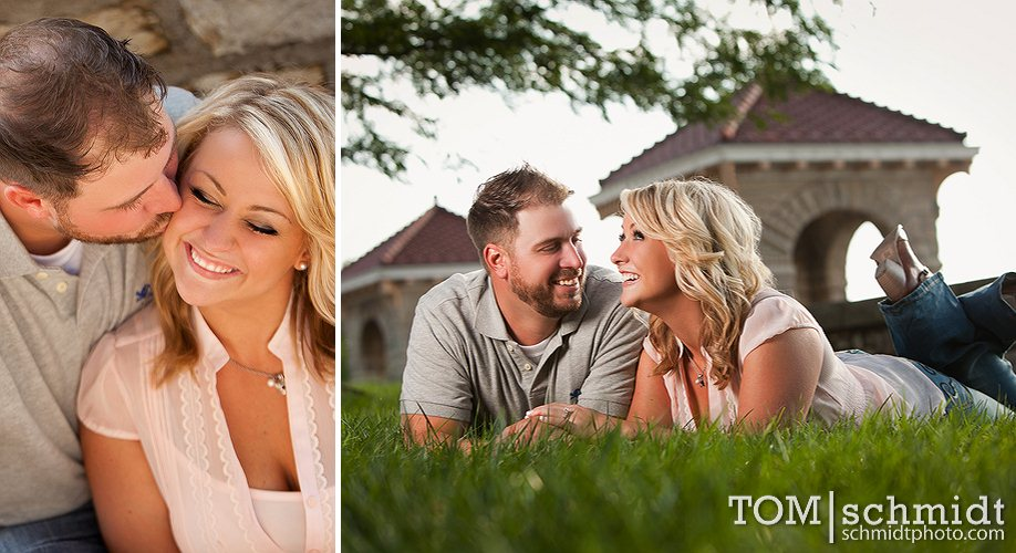 Best Places in KC to Take Engagement Pictures - Photo Gallery - Bree and Jeff