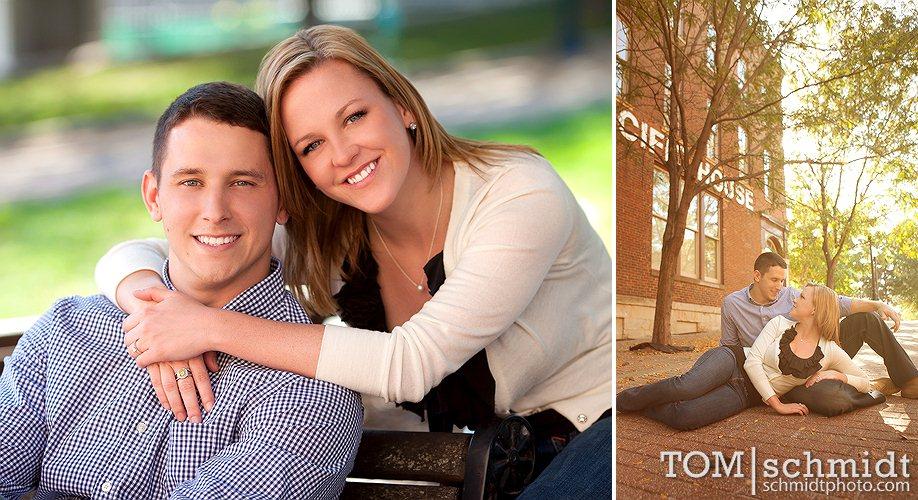 Tom Schmidt Photographer - Downtown KC - Megan and Kirk