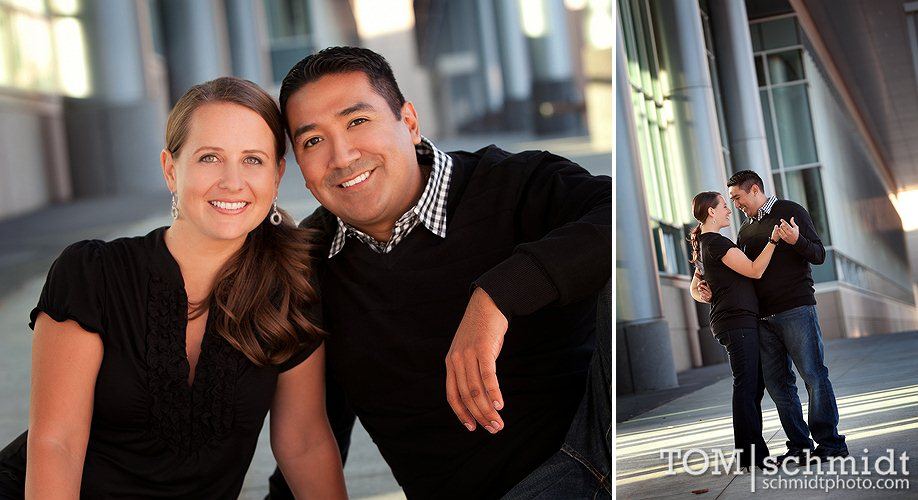 Engagement Photo Poses - Kansas City Photographer - Tom and Jerry Weddings