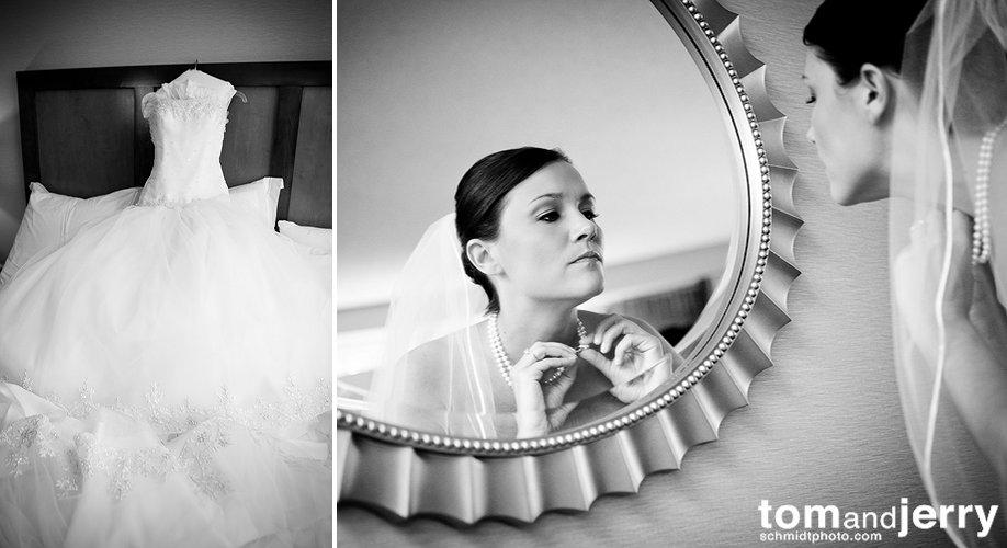 Bridal Preparation Photos - Kansas City Bridal Makeup - kansas city wedding cakes
