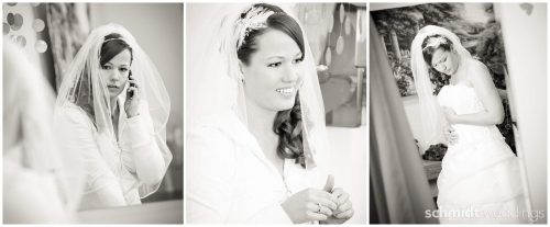 Wedding photographer Tom Schmidt Kansas City Bridal getting ready
