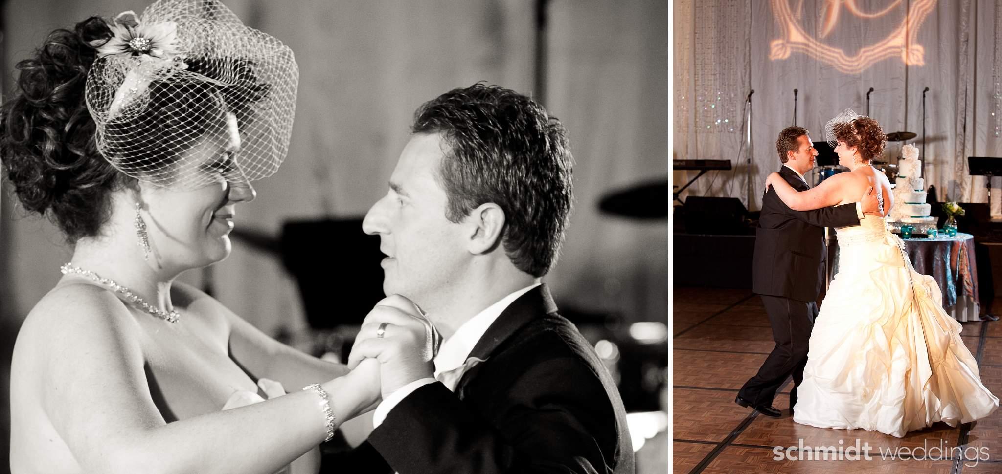 First Dance wedding reception with fun innovative decorating ideas artistic photos tom schmidt