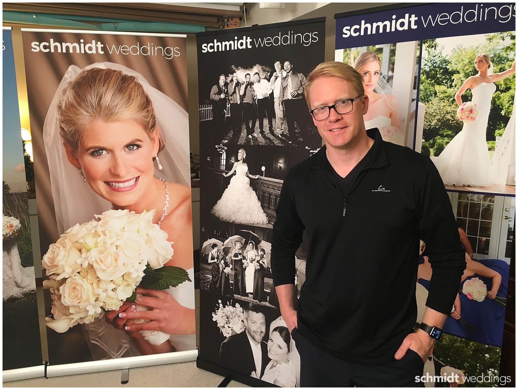 Tom Schmidt Wedding Photographer Bridal expo