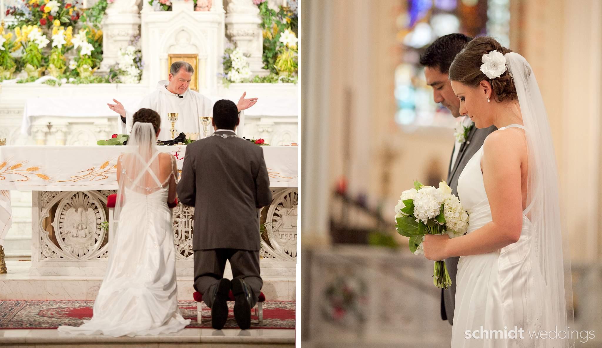 Catholic church wedding picture ideas Tom Schmidt Photo