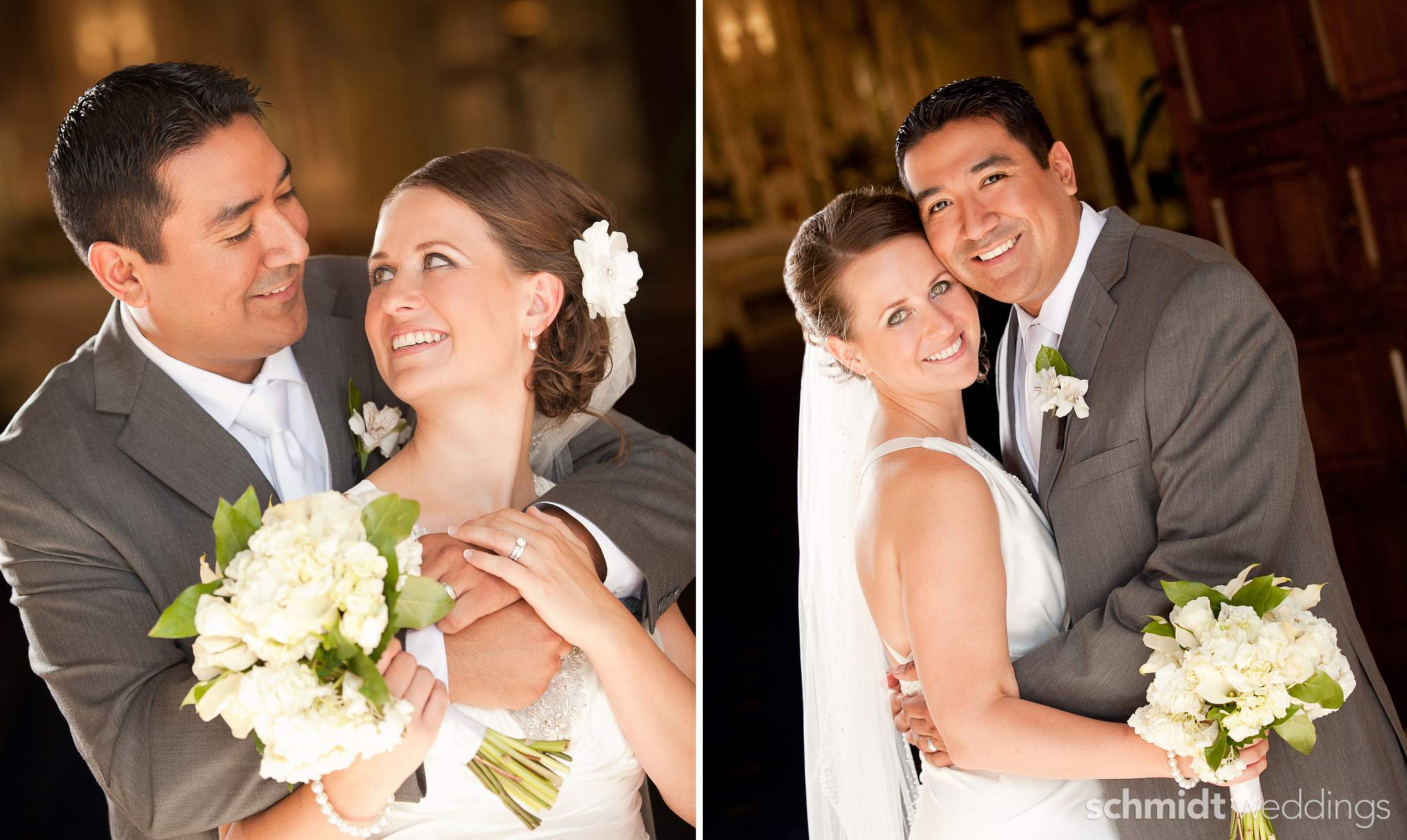 Bride and groom portraits by Tom Schmidt Chicago