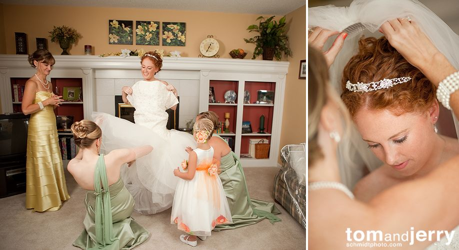 Bride - Wedding Dress - Tom and Jerry Wedding Photographers
