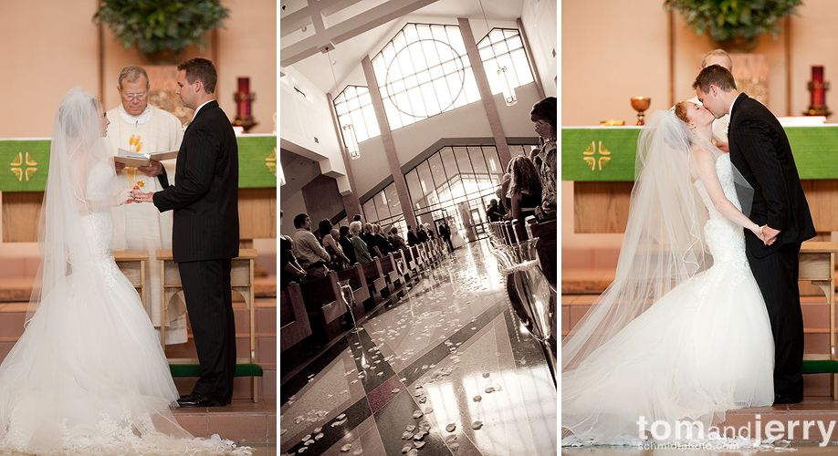 Ceremony- Wedding Kiss - Tom and Jerry Wedding Photographers