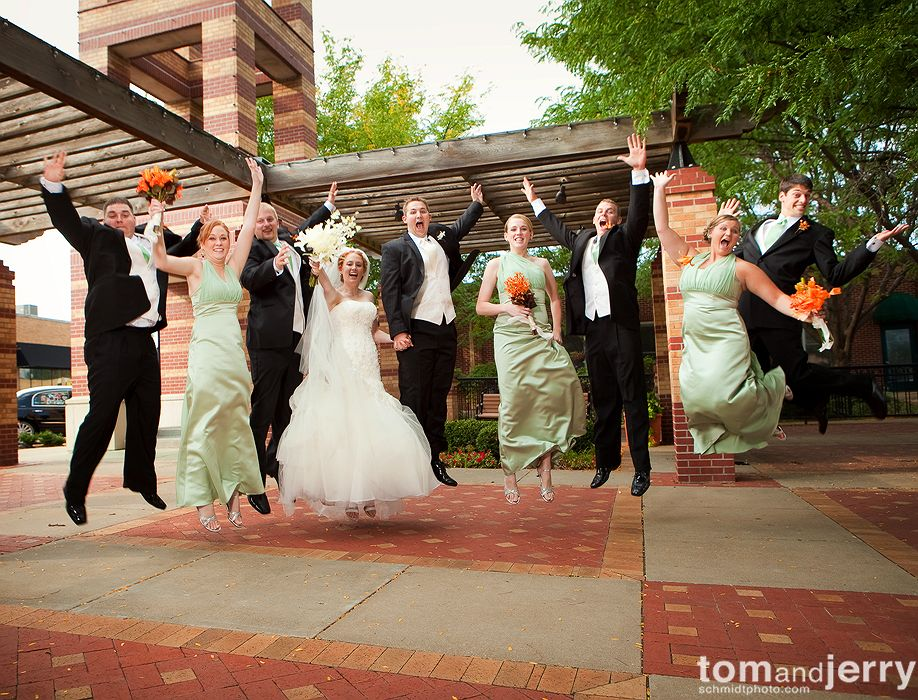 Wedding Party - Wedding Portraits - Tom and Jerry Wedding Photographers