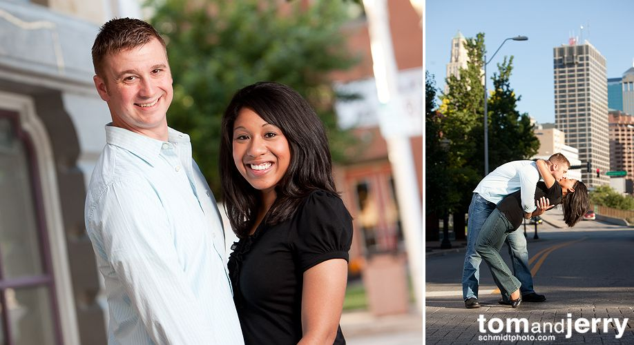 Engagement Portraits- Tom and Jerry Photography