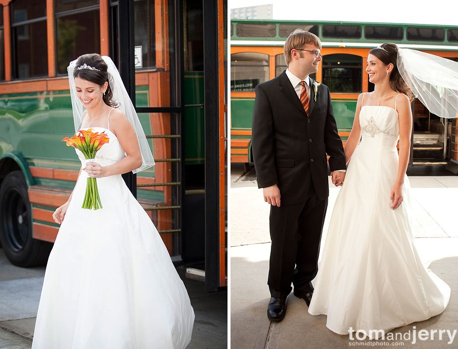 Bride and Groom - Wedding Portraits - Tom and Jerry KC Wedding Photographers