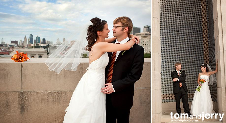Wedding -Downtown Kansas City - Tom and Jerry KC Wedding Photographers