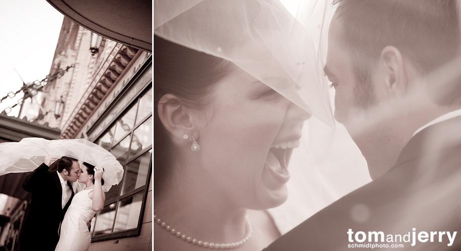 Beautiful Weddings - Kansas City Wedding Photographer - Kisses