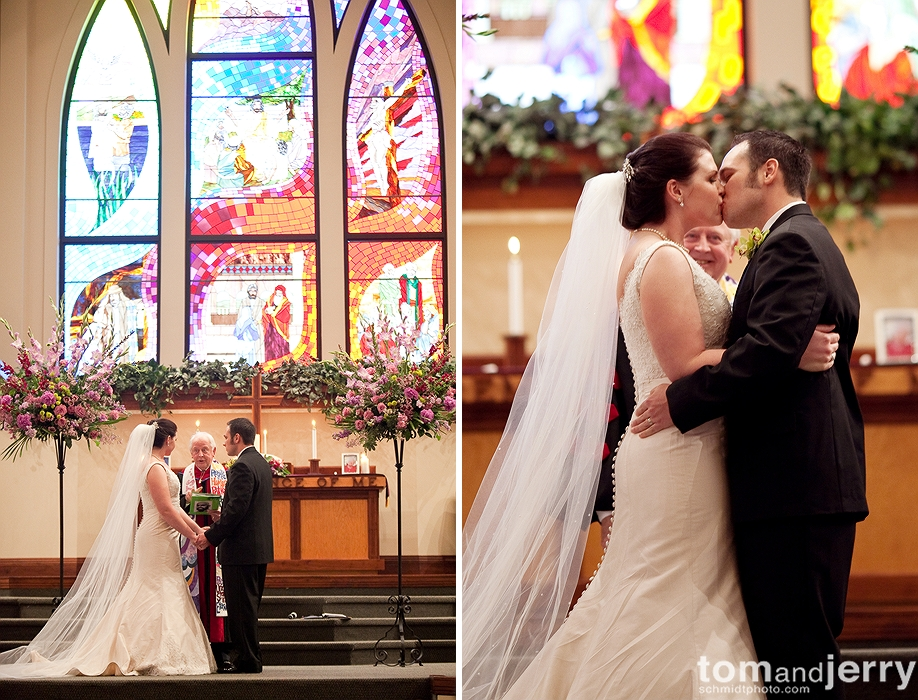 Ceremony - Kansas City Wedding Photographer -Church