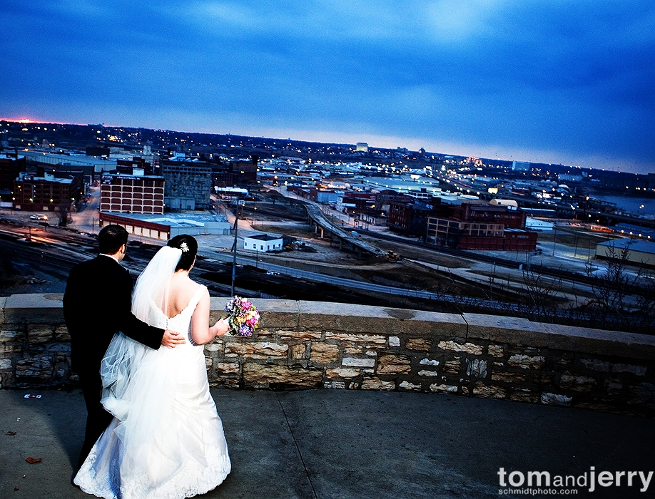 Downtown - Kansas City Wedding Photographer - Sawyer Room