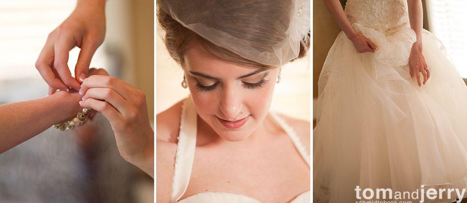 Bride Preparation - Tom and Jerry Wedding Photographers