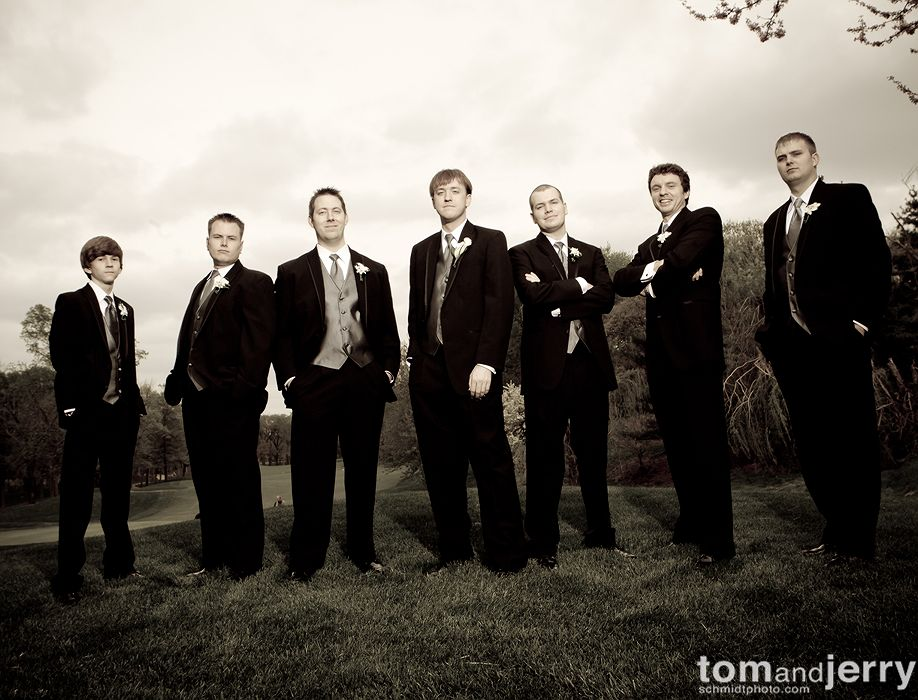 Wedding Party Portraits - Tom and Jerry Wedding Photographers