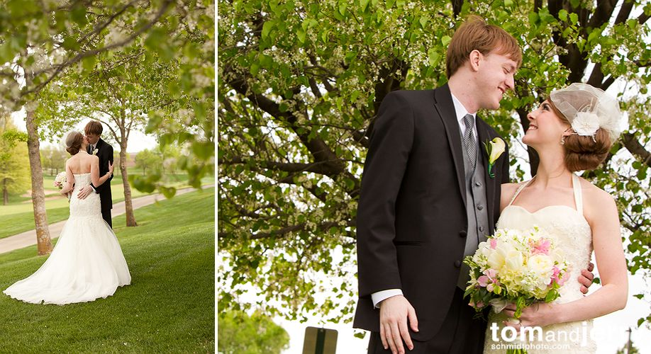 Bride and Groom - Tom and Jerry Wedding Photographers