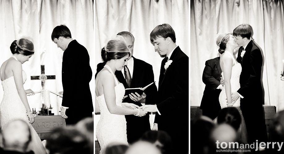 Overland Park Wedding- Ceremony - Tom and Jerry Wedding Photographers