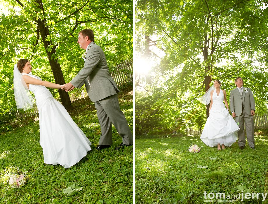Fun Bridal Portraits - Tom and Jerry Wedding Photographers