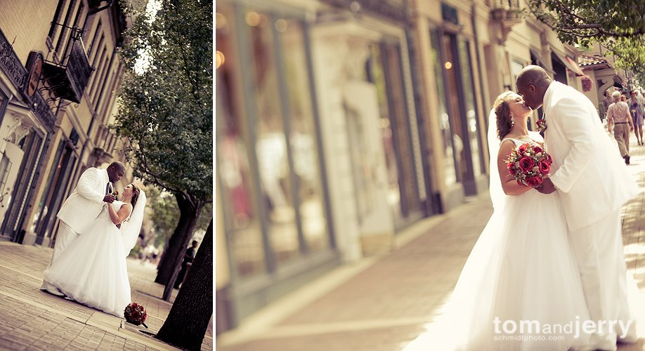 Bride and Groom Portrait Gallery - Country Club Plaza KC - Schmidtphoto.com