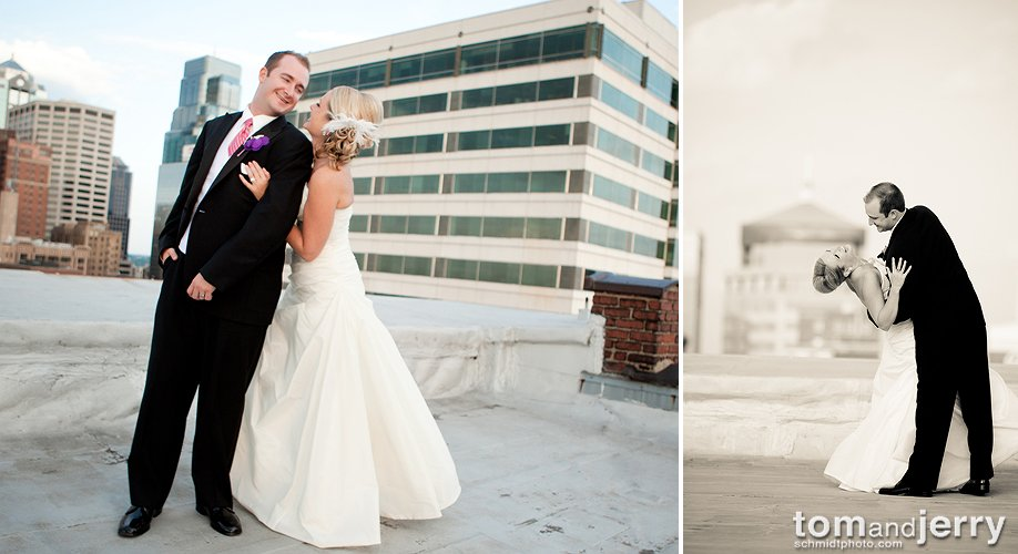 Skyline Kansas City - Wedding Dress - Bridal Portraits