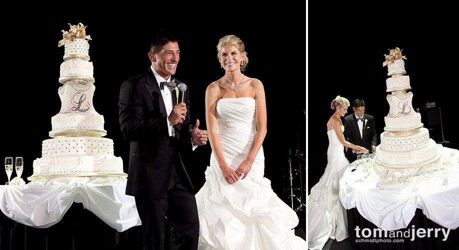 Biggest Wedding Cake Ever - Wedding Reception Venue KC - Power and Light District KC