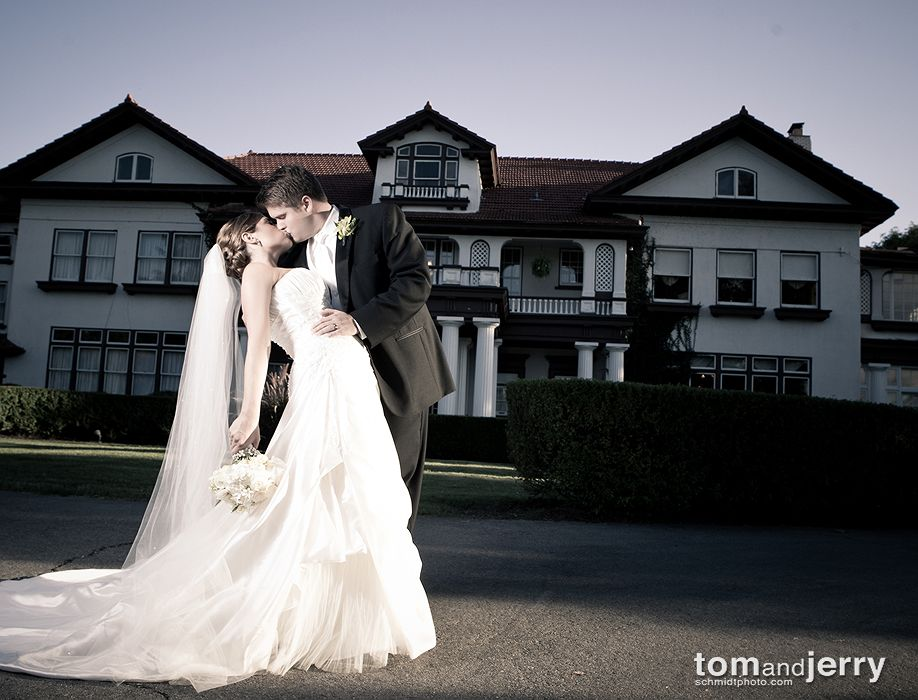 Dramatic Wedding Images - Longview Mansion KC