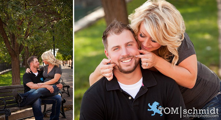 Outdoor E-Session - Fall Photos - Wedding Photos