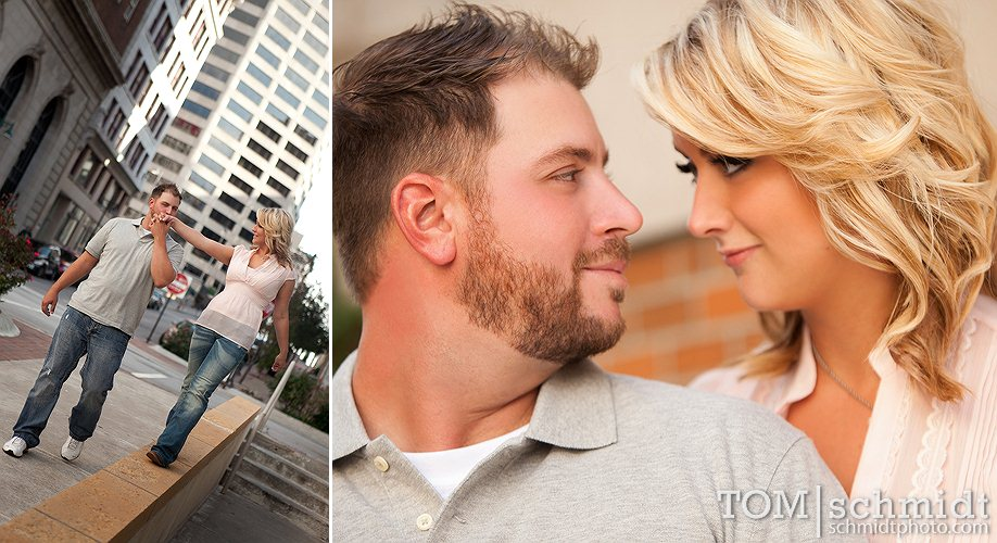 Fun Engagement Photo Samples - TS Photo - KC Weddings