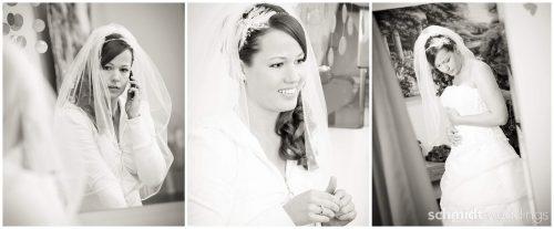 Wedding photographer TS Kansas City Bridal getting ready