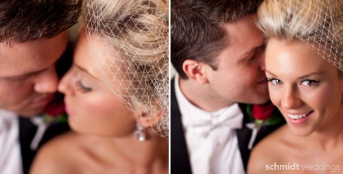 Writing groom close-up pose ideas with beautiful lighting after wedding portraits schmidt photo
