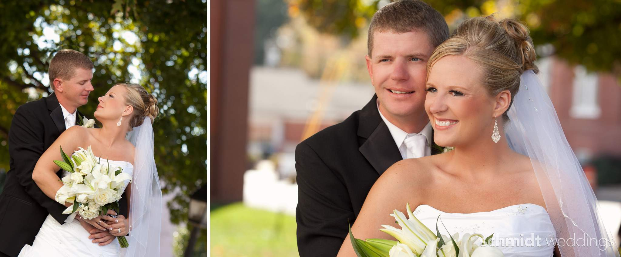 bride and groom couple portrait ideas - schmidtweddings