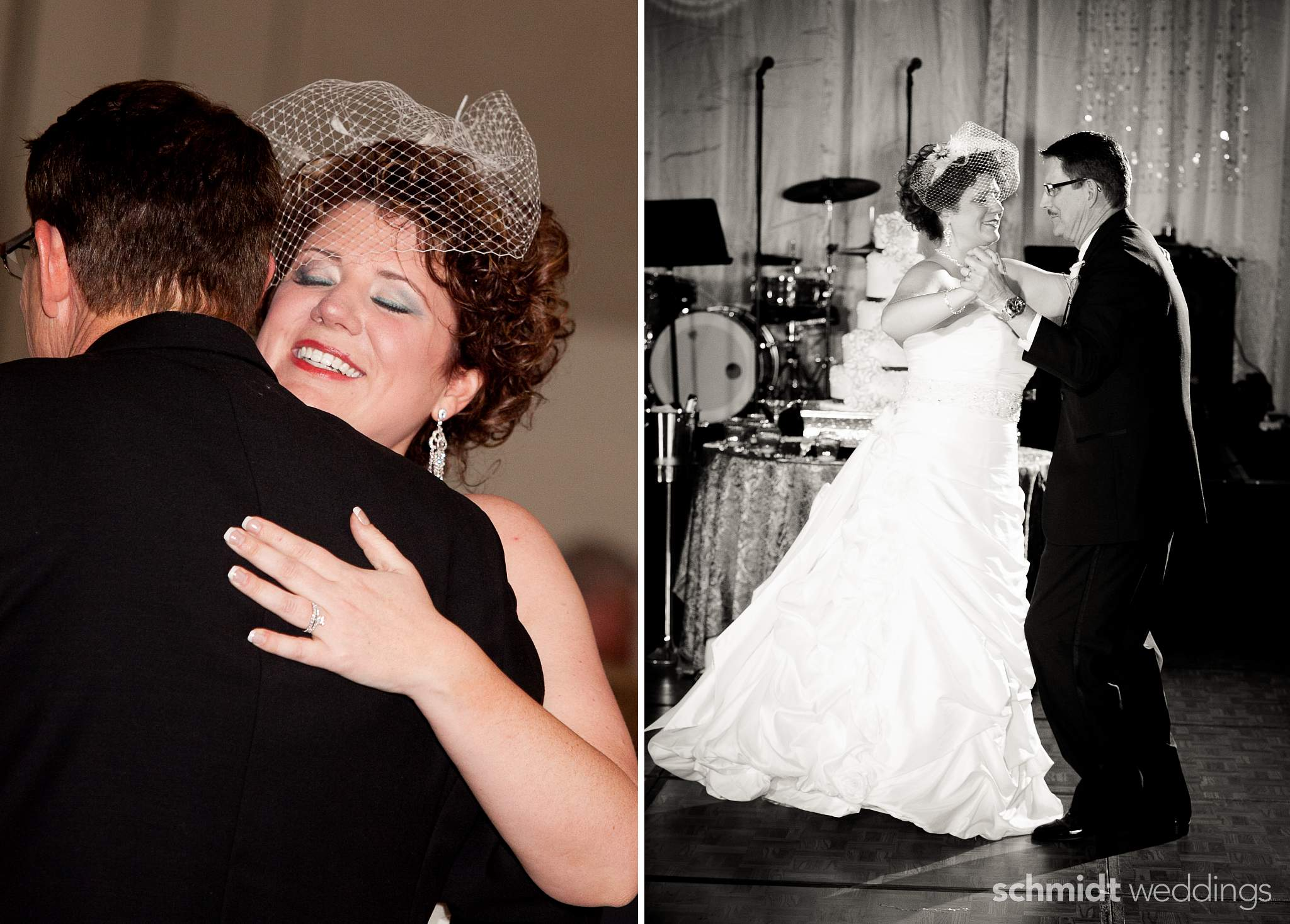 First Dance wedding reception with fun innovative decorating ideas artistic photos tom schmidt