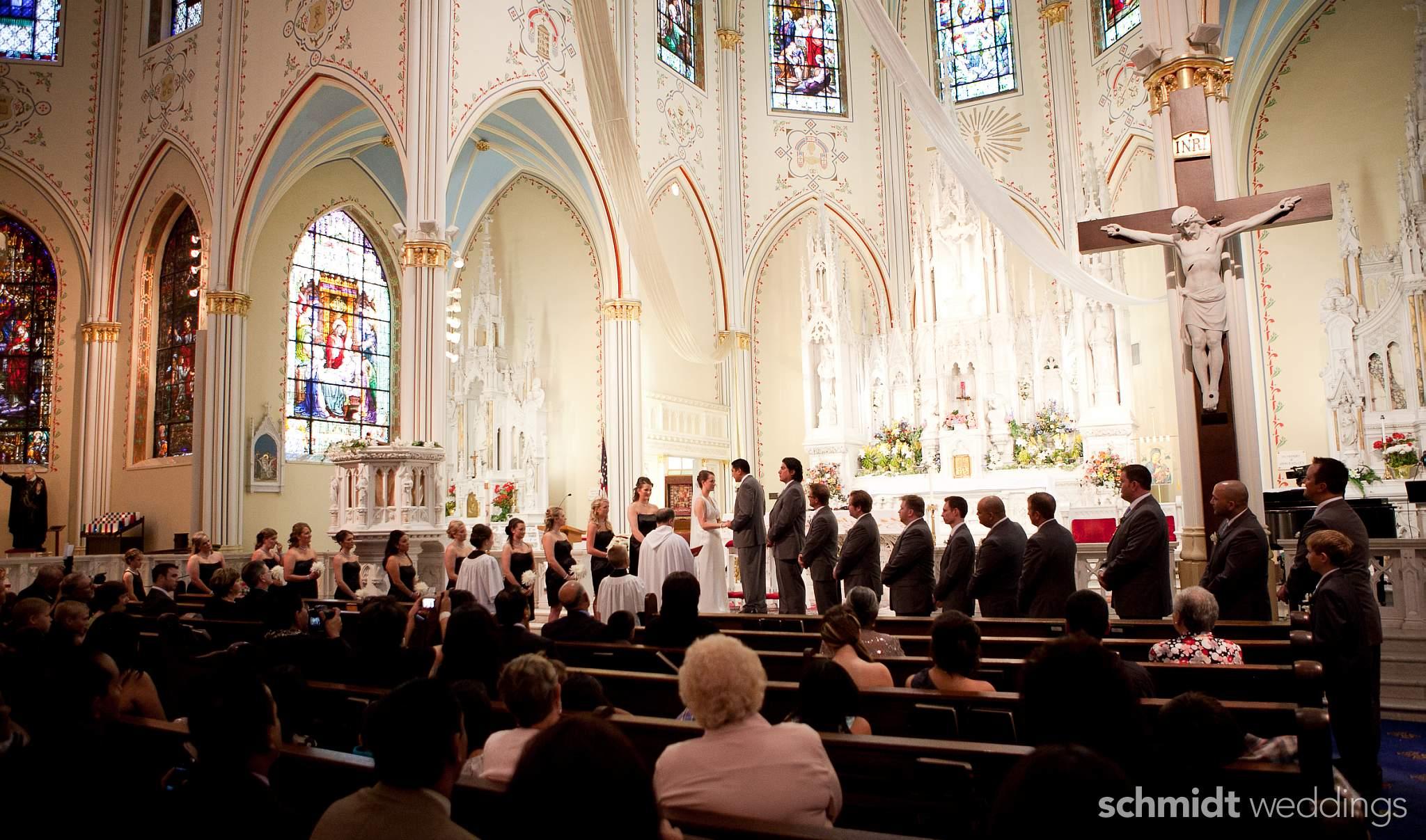 Catholic church wedding picture ideas TS Photo