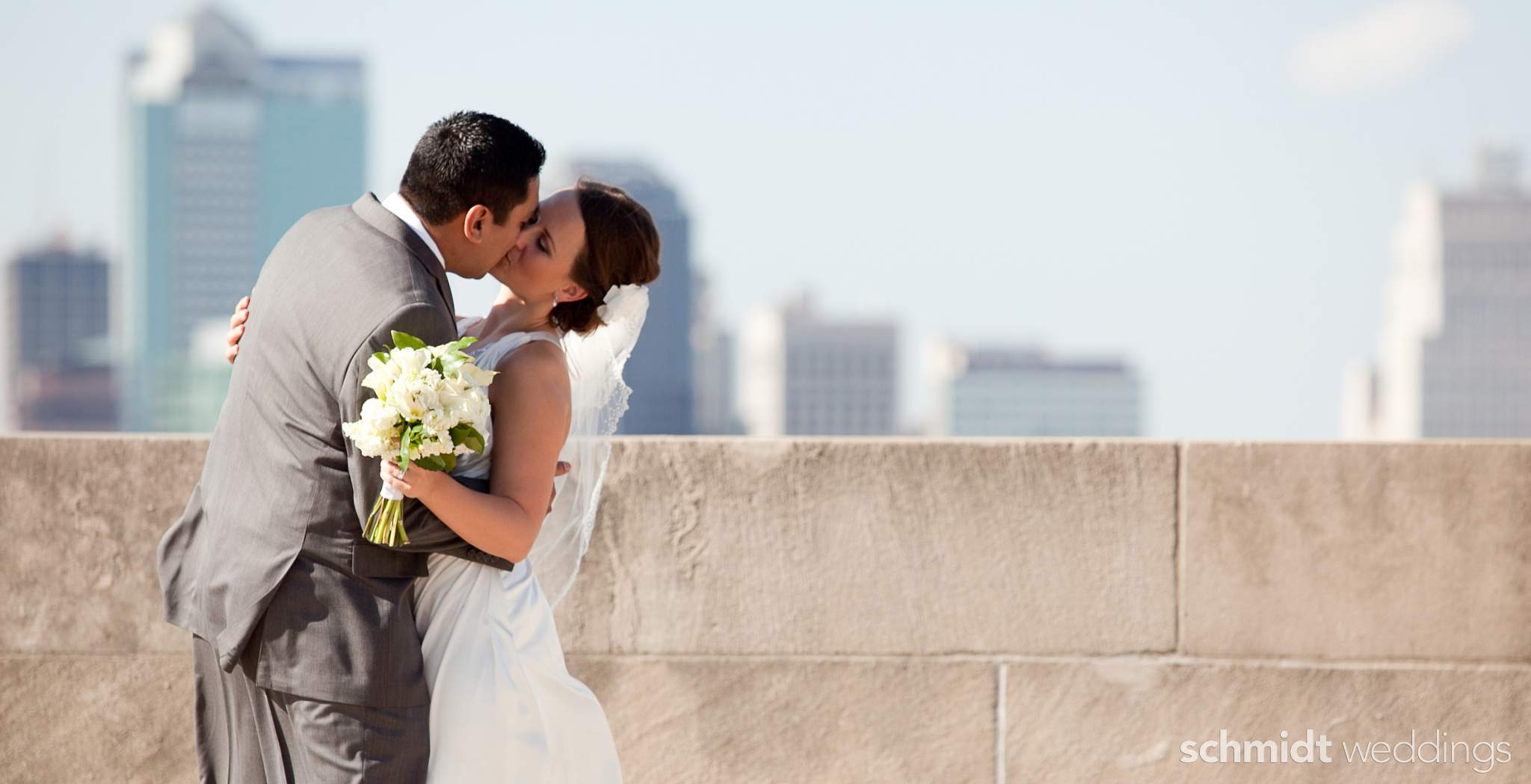 Bride and groom portraits by TS Chicago