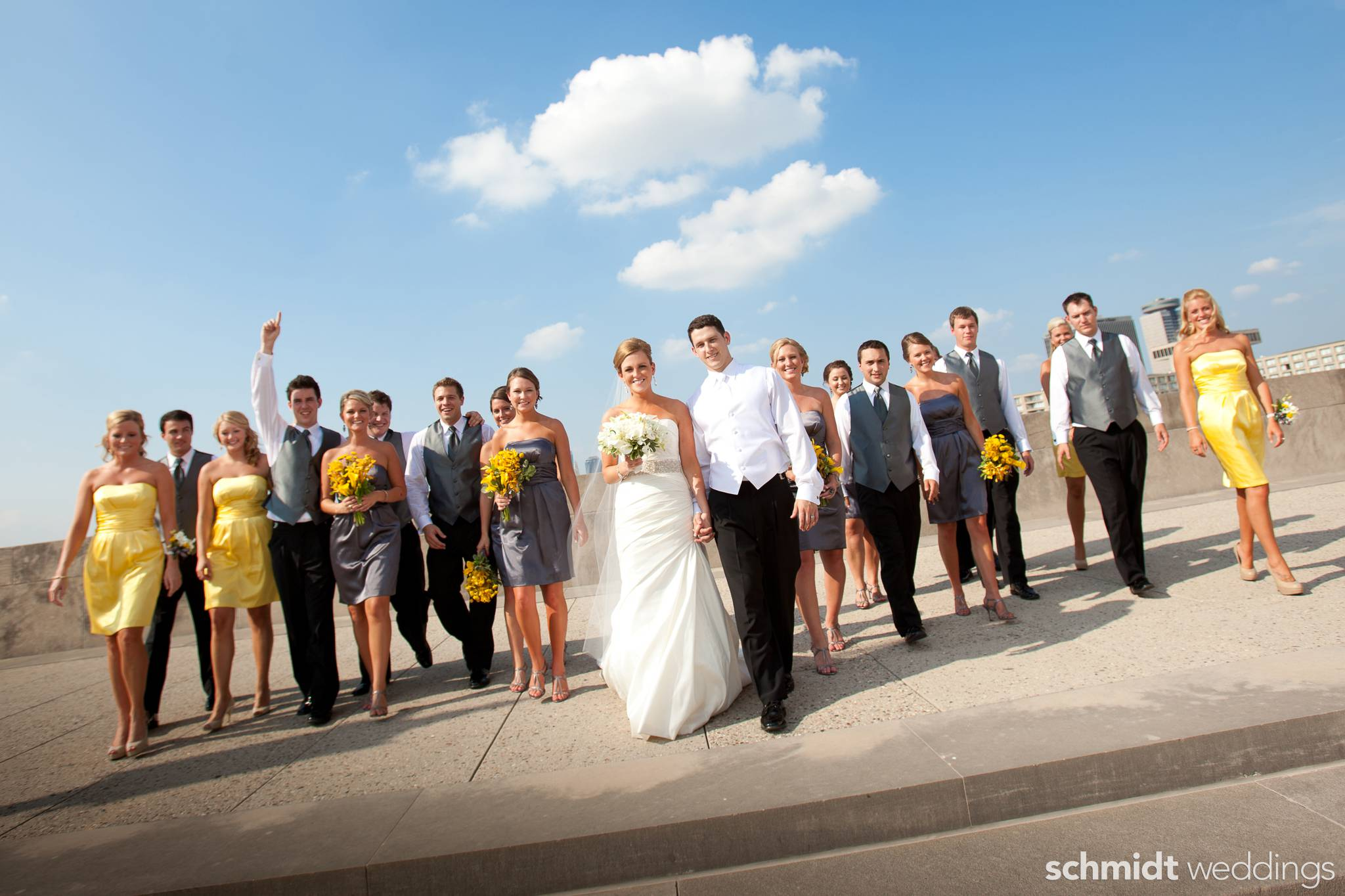 Fun natural expression images from wedding day photo shoot by schmidt photography